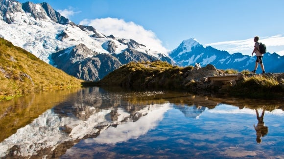New Zealand mountain