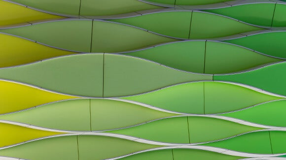 green-wavy-abstract